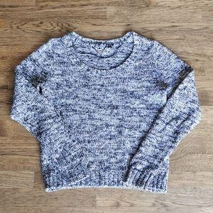 Volcom Heathered Black White Heathered Sweater M